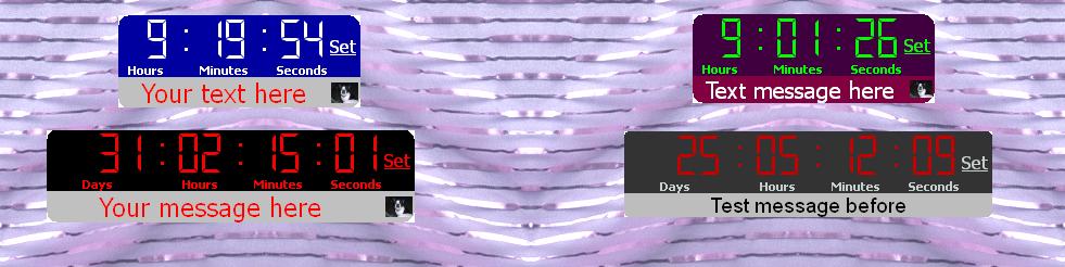 Christmas Countdown Screen Savers.Days Until Christmas Countdown Clock And Screensaver